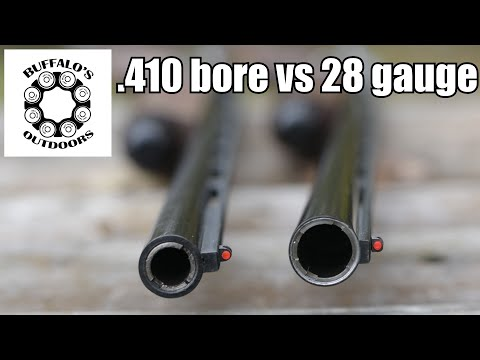 .410 Vs 28 Gauge - Comparison