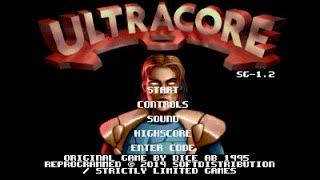 Mega Drive Longplay [616] Ultracore (Mega SG Build)