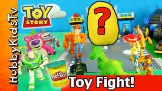 TOY STORY 3 Box Open with a PLAY-DOH Surprise Golden Egg!