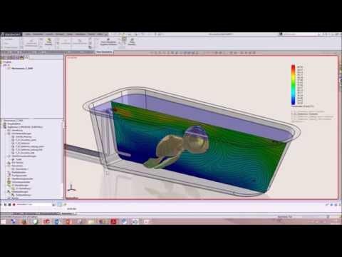 Solid Solutions AG - SOLIDWORKS Tipps&Tricks - Ein warmes Bad mit Flow Simulation