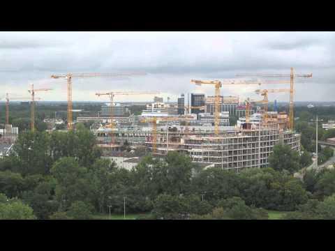 Vodafone Campus Düsseldorf Bauzeitraffer - construction timelapse