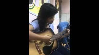 I'm yours - Phương Uyên, guitar K91 NVHTN