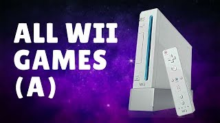 All Wii games - Part 2