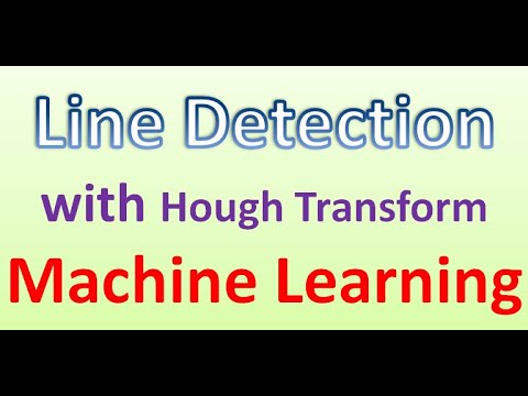 Machine Learning | Vision-Line Detection with Hough Transform #5