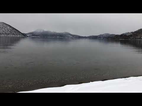 浮見堂雪景