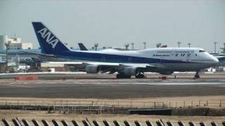 【747th Video】 Various Boeing 747s @ Narita & Haneda - HD Collection 2009