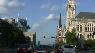 driving in downtown nashville tn