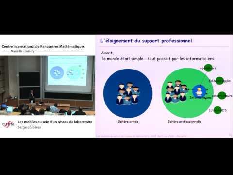 Serge Bordères :  Les mobiles au sein d'un réseau de laboratoire