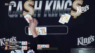 3handed - Fedor Holz  vs Leon Tsoukernik vs Martin Kabrhel (comentarios en español)