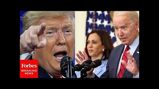 Trump Accuses Biden Of Turning Our Country  Nto A Migrants Camp At Rally  N Georgia