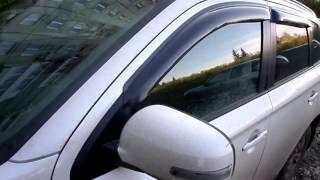 Дефлекторы окон Mitsubishi Outlander с 2012 года, SMIOUT1232 | auto-components.ru
