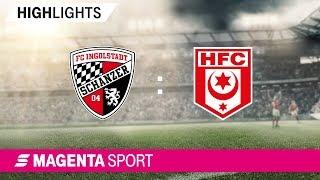 FC Ingolstadt - Hallescher FC | Spieltag 8, 19/20 | MAGENTA SPORT