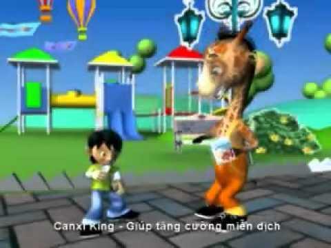 Quảng cáo Canxi king - Lớn cùng trẻ em