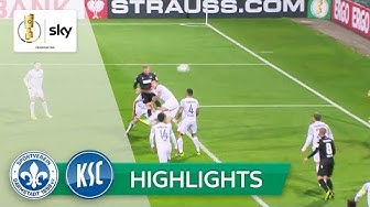 Hofmann schießt KSC spät weiter! |SV Darmstadt - Karlsruher SC 0:1 | Highlights - DFB-Pokal
