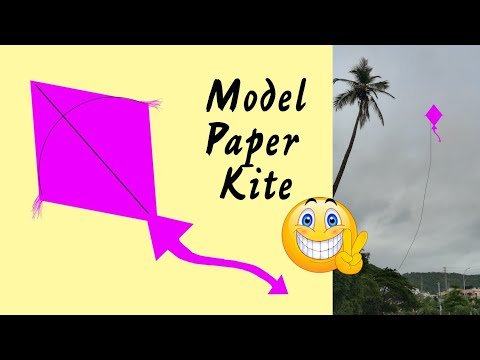 How to make a New Model Paper Kite