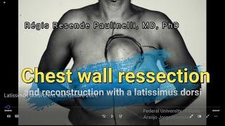Latissimus dorsi chest wall closure 2020