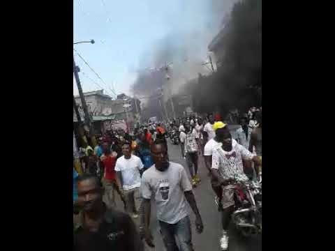 Haitian Manifestation September 12 2017 Port-au-Prince