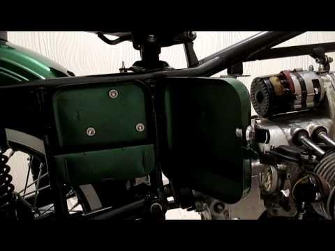 Мотоцикл Урал М67-36. Крутой бардачек!