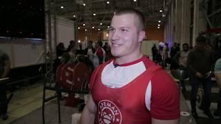 Юрий Белкин интервью после ЧМ WRPF 28.10.2017