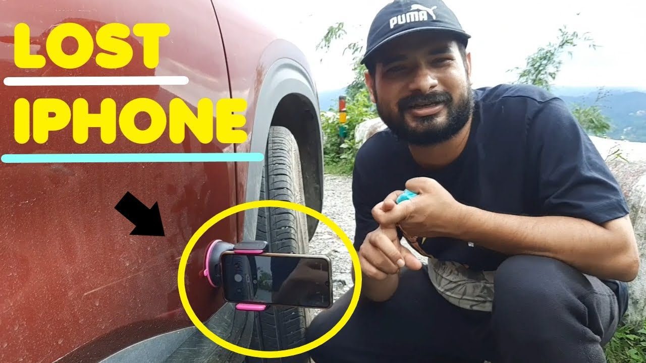 I PHONE GOT CRUSHED WHILE PERFORMING THIS DRIVE TEST ??  WATCH TILL END !!