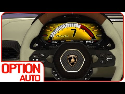 lamborghini veneno speedometer. new lamborghini asterion 320 kmh speedo animation option auto news veneno speedometer a