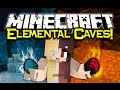Minecraft ELEMENTAL CAVES MOD Spotlight! - Magical Caving! (Minecraft Mod Showcase)