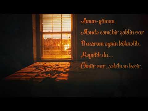 """Aqşin Yenisey  """"Üzün tanınmaz halı. Səsləndirdi: Mehman Dilqəmoğlu"""