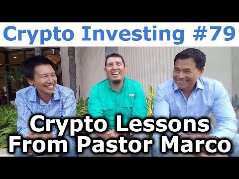 Crypto Investing #79 - Crypto Lessons From Pastor Marco Echartea - By Tai Zen & Leon Fu Dot Com™