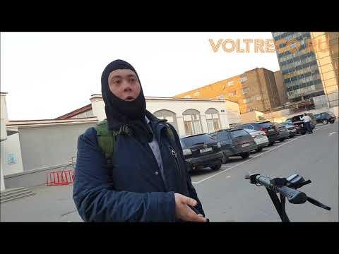 Электросамокат 800w Скорость 60 км в час Отзыв владельца Обзор Voltreco.ru