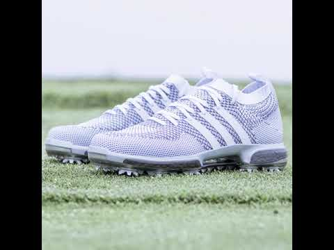 the latest 6045d ead69 adidas Silver Boost Golf Shoes  THE PLAYERS Championship 2018