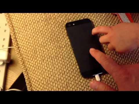 iPhone 5 strange vibrations