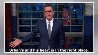 Colbert addresses louis c.k. allegations, late show cancelation - Alan Jackson