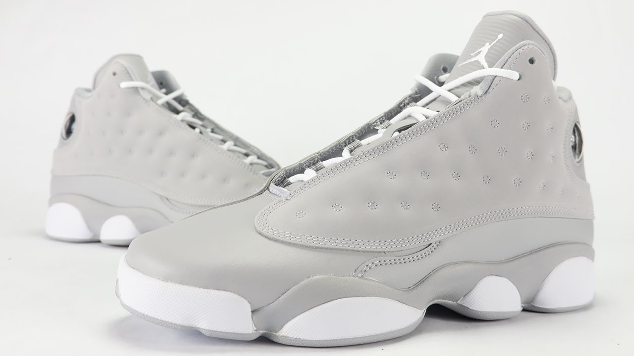 ee2f8a12f6f114 Air Jordan 13 Wolf Grey Review - YouTube