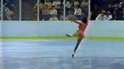 Kristina Wegelius (FIN) - 1980 Lake Placid, Ladies' Long Program
