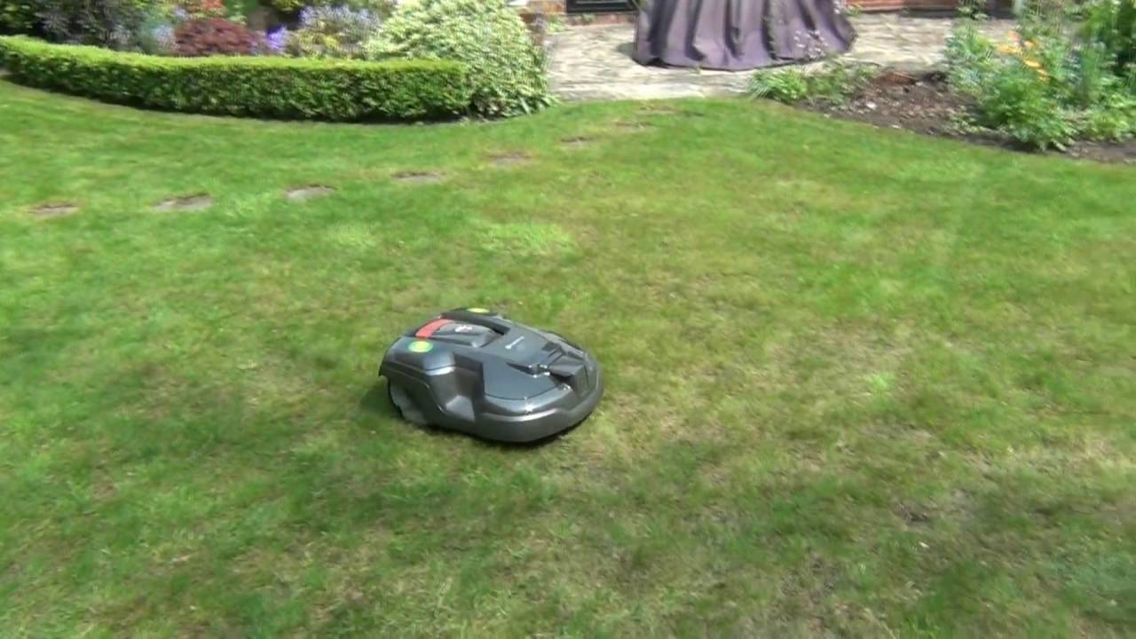 husqvarna automower 315 installation of my robotic mower youtube. Black Bedroom Furniture Sets. Home Design Ideas