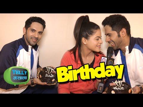 Ankit Bathla aka Dhruv Celebrates his Birthday with Jigyasa aka Thapki