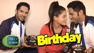 Ankit Bathla aka Dhruv Celebrates his Birthday with Jigyasa aka Thapki