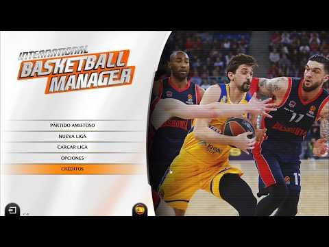 International Basketball Manager   En Español   Primeras Impresiones