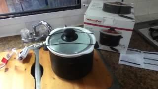 Road pro 12v crock pot slow cooker