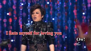 Trizzie Phương Trinh - I Hate Myself For Loving You (Karaoke)