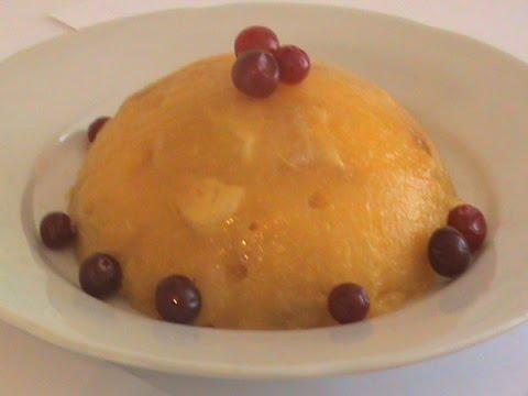 Фруктовый десерт ежик