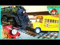 Toy Trains For Kids Thomas And Friends Victor Try To Stop The Train Rebby's PlayTime