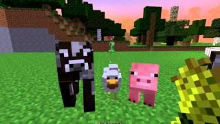 7. Приручение, Разведение мирных мобов в MineCraft