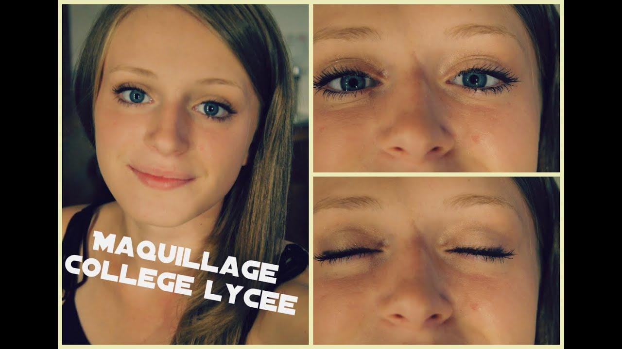 Célèbre Tutoriel [#19] : Maquillage rapide et léger pour la rentrée  ZE95