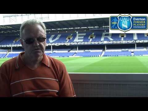 Everton Former Players' Foundation interview Goodison Park great John Bailey
