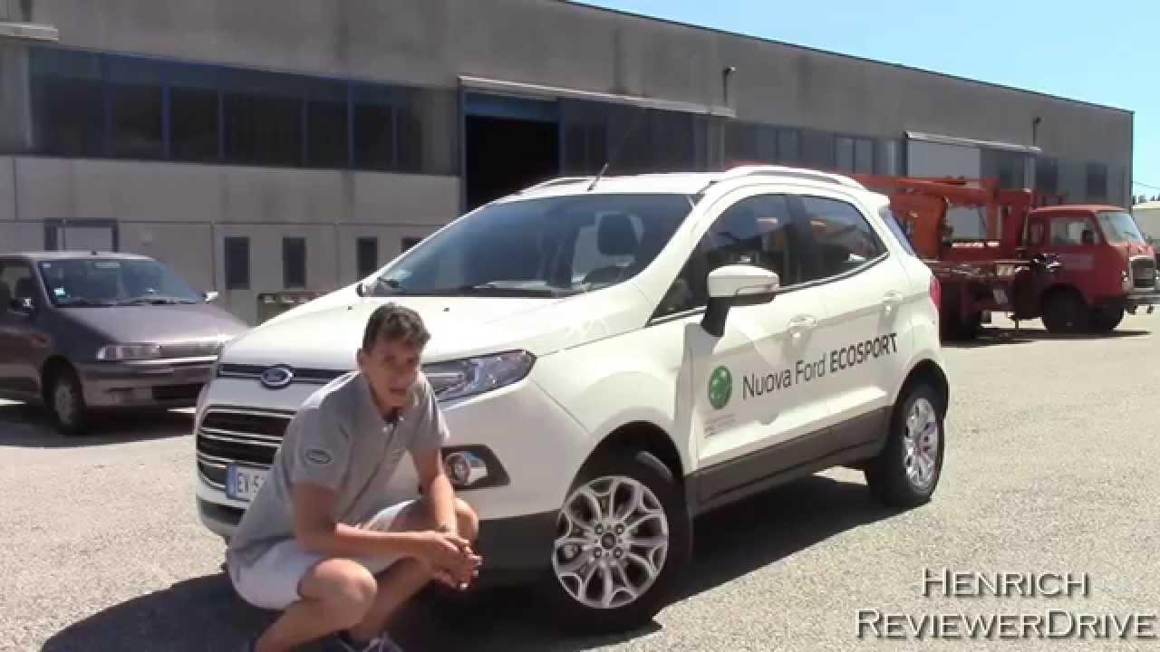test drive 2014 ford ecosport tdci prova su strada nuova. Black Bedroom Furniture Sets. Home Design Ideas