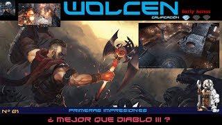 Wolcen ¿Mejor que Diablo III? - Primeras impresiones | Gameplay en español | Full HD 60fps.