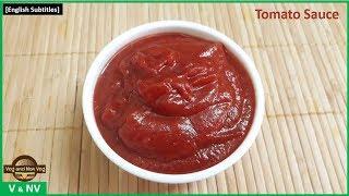 தக்காளி சாஸ் |  Tomato sauce in tamil | home made tomato sauce tamil | Tomato ketchup in tamil
