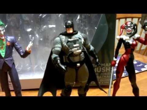 Batman HUSH: The Joker, Batman & Harley Quinn figure reviews