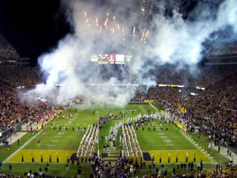 "LSU Tiger Band ""It's Saturday Night in Tiger Stadium ..."